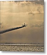 Livin On The Edge Metal Print