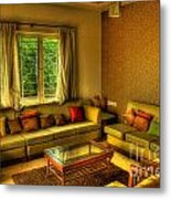 Living Room Metal Print