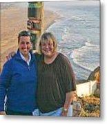 Liz And Karen Metal Print
