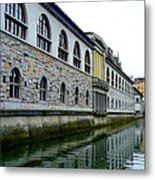 Ljubljana Reflections Metal Print