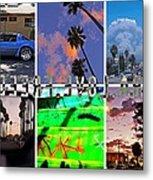 Llf Collage 2 Metal Print