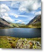 Llyn Idwal Lake Metal Print