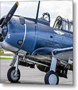 Loaded And Ready Metal Print