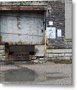 Loading Dock Door 2 Metal Print
