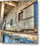 Loading Dock Metal Print