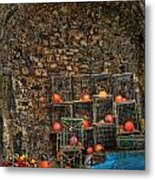 Lobster Pot Arch Metal Print