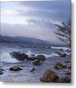Loch Ness Shoreline At Dusk Metal Print