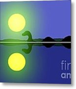 Loch Ness Sunrise Metal Print