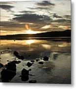 Loch Rannoch Sunset Metal Print