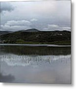 Loch Stack Boat House Metal Print