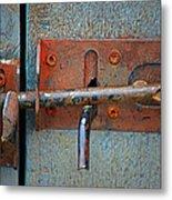 Lock And Latch Metal Print