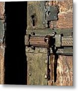 Lock Of Church. France Metal Print