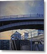 Lockport Stroll Metal Print