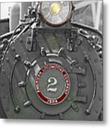 Locomotive 2 Metal Print