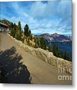 Lodge On The Crater Metal Print