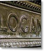 Logan Circle Metal Print