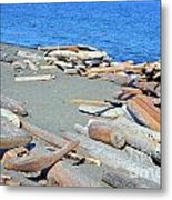 Logged Out Metal Print