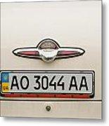 Logos Old Car Metal Print by Odon Czintos