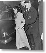Lolita Lebron B. 1919, Under Arrest Metal Print by Everett