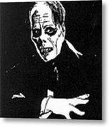Lon Chaney As The Phantom Metal Print