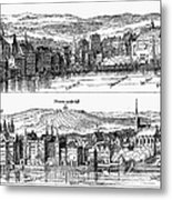 London, 16th Century Metal Print