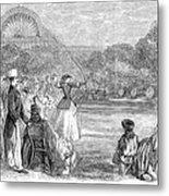 London: Archery, 1859 Metal Print