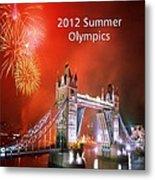 London Bridge 2012 Olympics Metal Print
