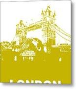 London Bridge Poster Metal Print