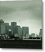 London Buildings Metal Print
