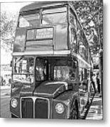 London Bus Metal Print