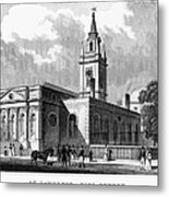 London: Church, C1830 Metal Print