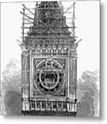 London: Clock Tower, 1856 Metal Print