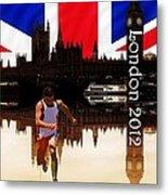 London Olympics Metal Print by Sharon Lisa Clarke