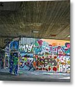 London Skatepark 3 Metal Print