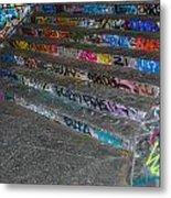 London Skatepark 4 Metal Print