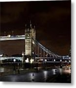 London Southbank View Metal Print