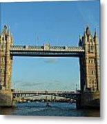 London Tower Bridge Looking Magnificent In The Setting Sun Metal Print