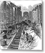 London:fleet Street Sewer Metal Print