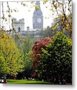 London's Big Ben -summer Time Metal Print