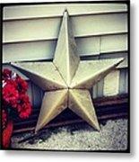 Lone Star Texas Metal Print by Dana Coplin