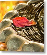 Lonely Fall Metal Print