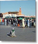 Lonely In Marrakesh Metal Print