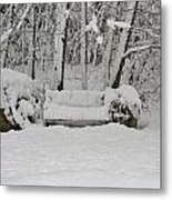 Lonely In Winter Metal Print