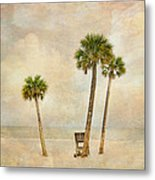 Lonely Shores Metal Print