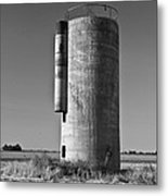 Lonely Silo 6 Metal Print