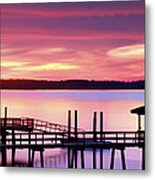 Long After Sunset Metal Print