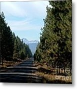 Long Road To Broken Top Metal Print