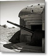 Longues-sur-mer German Battery Metal Print