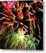 Longwood Fireworks Metal Print