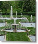 Longwood Fountains 3 Metal Print